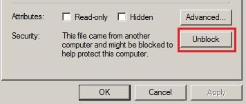 Unblock File